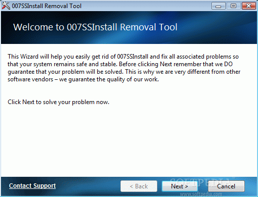 007SS Install Removal Tool Crack + Serial Number Download 2021