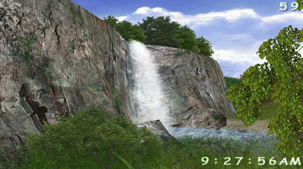3D Living Waterfall Screensaver Crack With License Key 2020