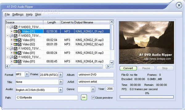 A1 DVD Audio Ripper Crack + License Key