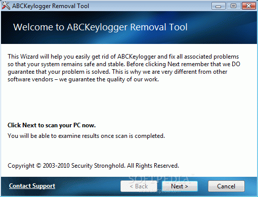 ABCKeylogger Removal Tool Serial Key Full Version