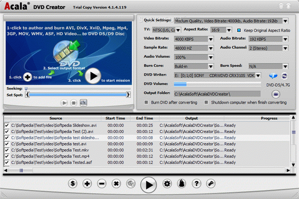 Acala DVD Creator Crack With Serial Number Latest