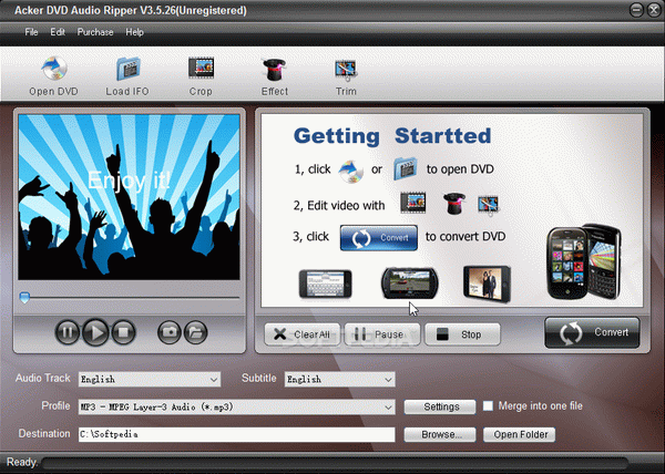 Acker DVD Audio Ripper Crack Plus Serial Number