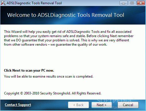 ADSL Diagnostic Tools Removal Tool Crack + Keygen