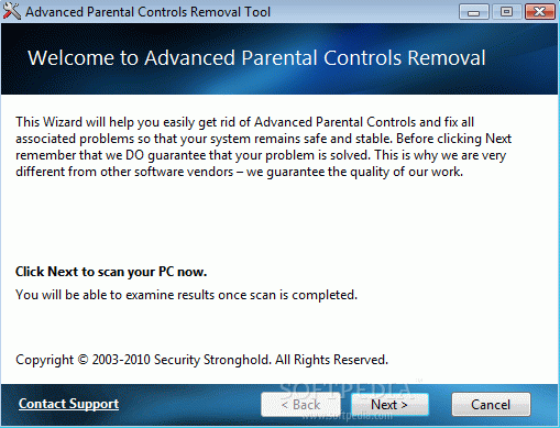 Advanced Parental Controls Removal Tool Crack + Serial Number Updated