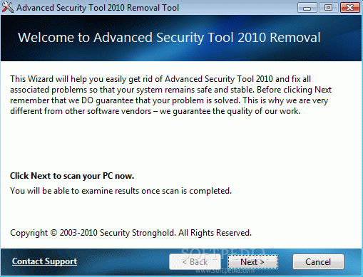 Advanced Security Tool 2010 Removal Tool Crack + License Key (Updated)
