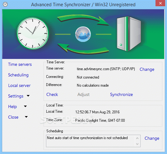 Advanced Time Synchronizer Crack With License Key Latest