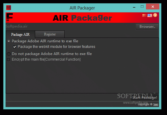 AIR Packager Crack + License Key Updated