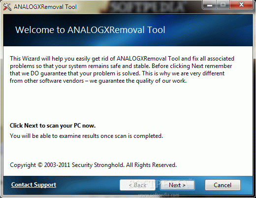 ANALOGXRemoval Tool Crack Plus Serial Key