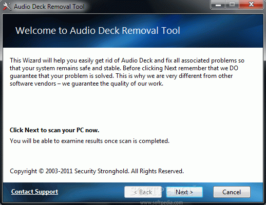 Audio Deck Removal Tool Crack With Serial Key 2021