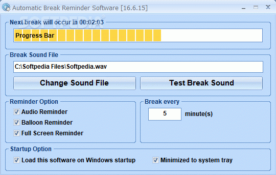 Automatic Break Reminder Software Crack + License Key Download