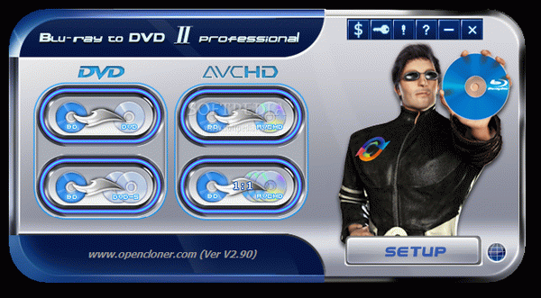 Blu-ray to DVD II Professional Crack & Keygen