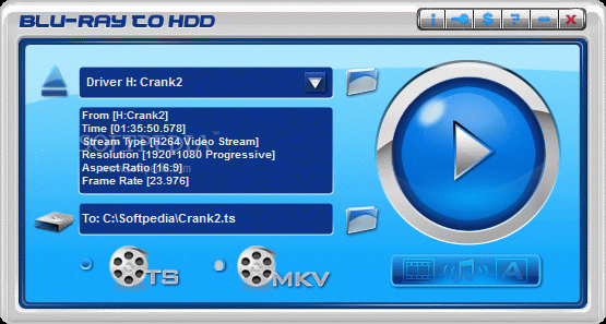 Blu-ray to HDD Crack Plus Keygen
