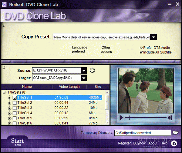 Boilsoft DVD Clone Lab Crack With Activator