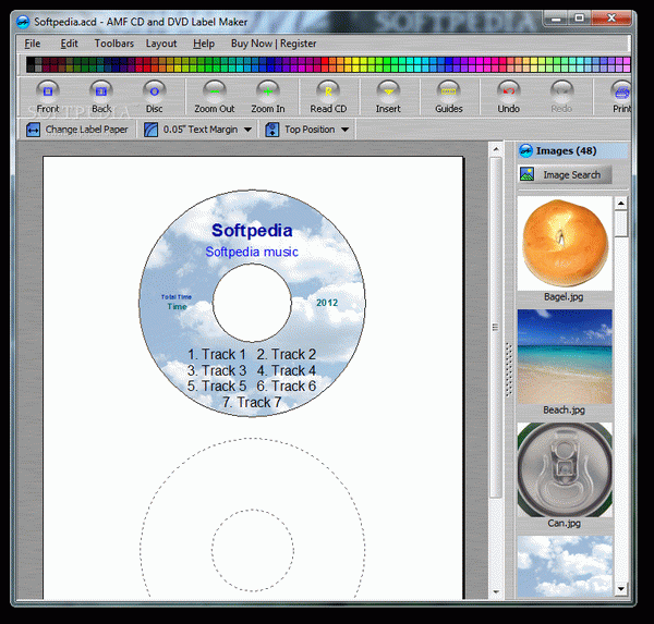 AMF CD and DVD Jewel Case and Label Maker Crack Full Version