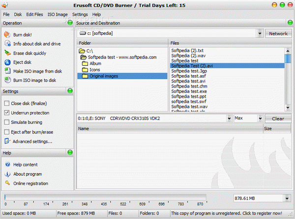 CD / DVD Burner Crack + Serial Key Download 2020