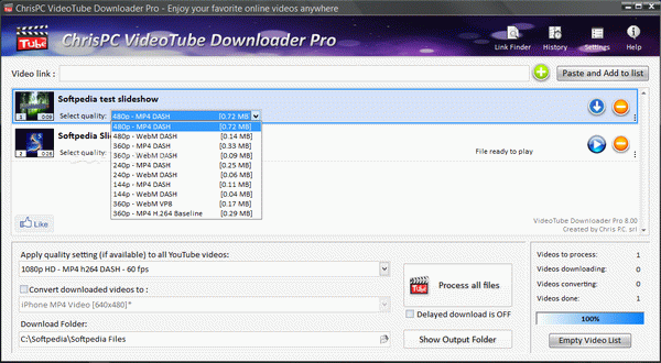 ChrisPC VideoTube Downloader Pro Crack Plus Serial Number