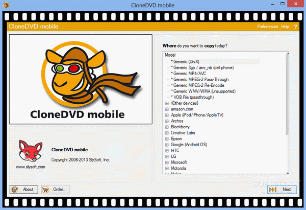 CloneDVD Mobile Crack + Activation Code Download