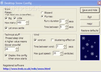 Desktop Snow for Windows Crack + License Key Download 2021