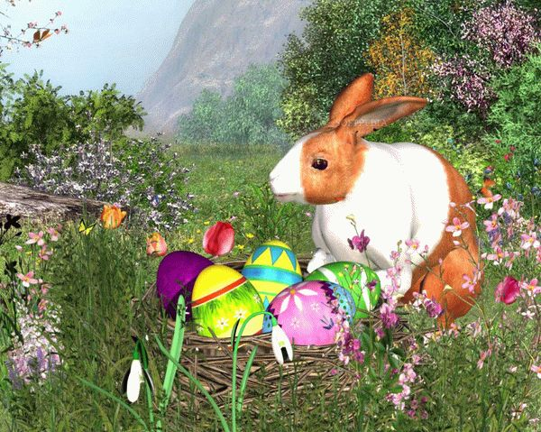 Easter Rabbit - Animated Wallpaper Crack + Activator