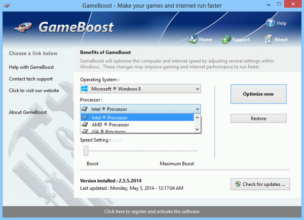 GameBoost Crack With License Key Latest 2020