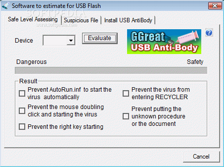 GGreat USB AntiBody Serial Key Full Version