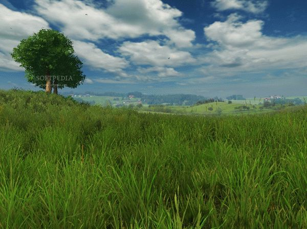 Grassland 3D Screensaver and Animated Wallpaper Crack & License Key