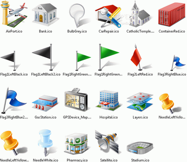 Icons-Land Vista Style GIS / GPS / MAP Icon Set Serial Key Full Version