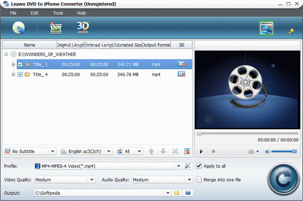 Leawo DVD to iPhone Converter Keygen Full Version