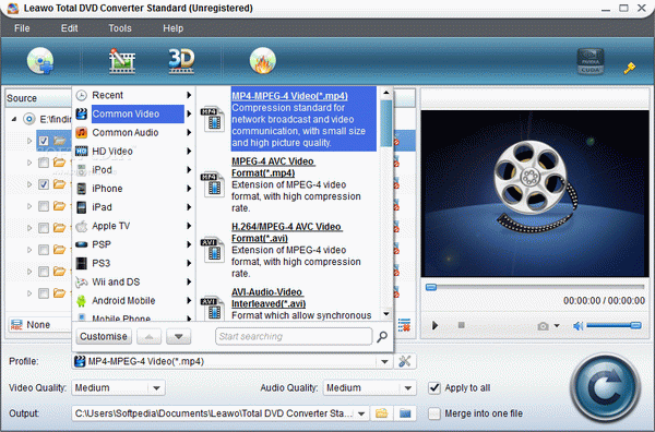 Leawo Total DVD Converter Standard Crack With Activator Latest