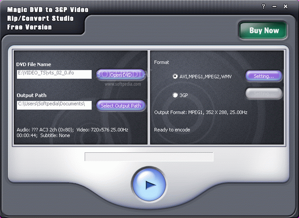 Magic DVD to 3GP Video Rip/Convert Studio Crack With Serial Key