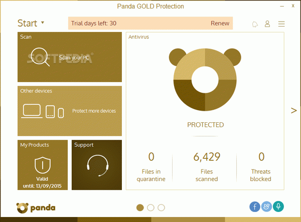 Panda Gold Protection Crack + Activator