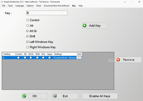 Simple Disable Key Crack With License Key Latest 2020