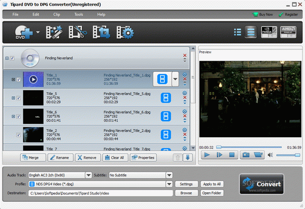 Tipard DVD to DPG Converter Activator Full Version