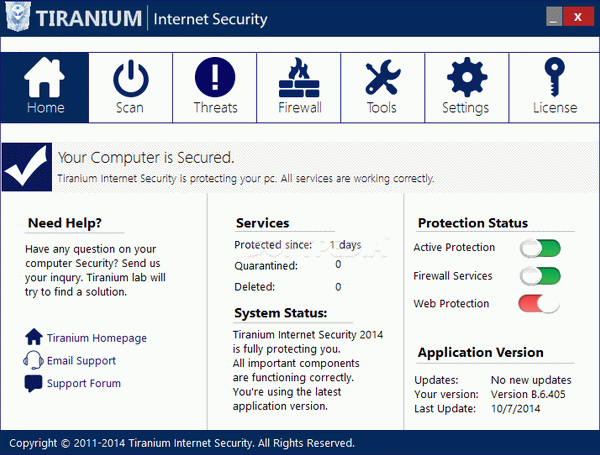Tiranium Internet Security Crack + License Key (Updated)