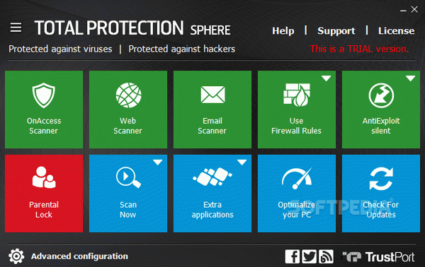 TrustPort Total Protection Sphere Crack With License Key Latest