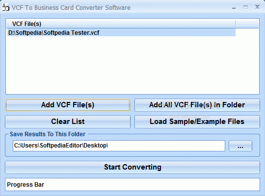 VCF To Business Card Converter Software Crack + Activation Code