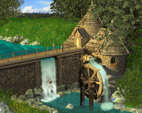Watermill by Waterfall - Animated Wallpaper Crack With Activation Code Latest 2021